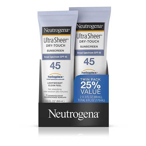 Protector solar Neutrogena SPF 45